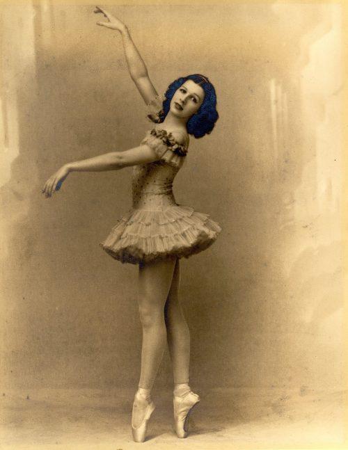 ballerina spiccen vintage